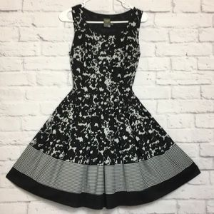 Taylor Black & White Sundress